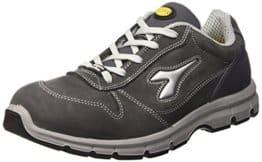 Diadora Run Low S3, Unisex-Erwachsene Arbeitsschuhe, Grau
