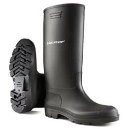 Dunlop Gummistiefel in Schwarz