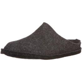 Haflinger Soft, Unisex-Erwachsene Pantoffeln, Grau