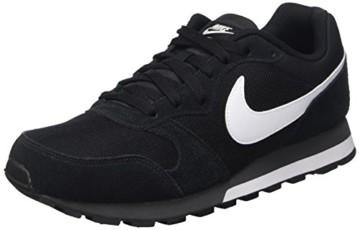 Nike MD Runner 2, Herren Sneakers, Schwarz