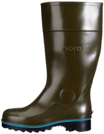 Nora Multi-Jan, Unisex-Erwachsene Sicherheitsstiefel, Grün