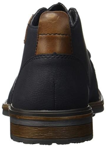 Rieker Herren Desert Boots, Blau