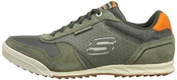 Skechers Ascoli Herren Sneakers, Grün
