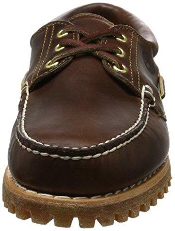 Timberland Heritage 3-Eye Classic Lug Herren Bootsschuhe