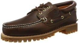 Timberland Heritage 3-Eye Classic Lug Herren Bootsschuhe, Braun